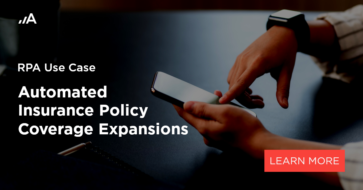 automated insurance policy coverage expansions