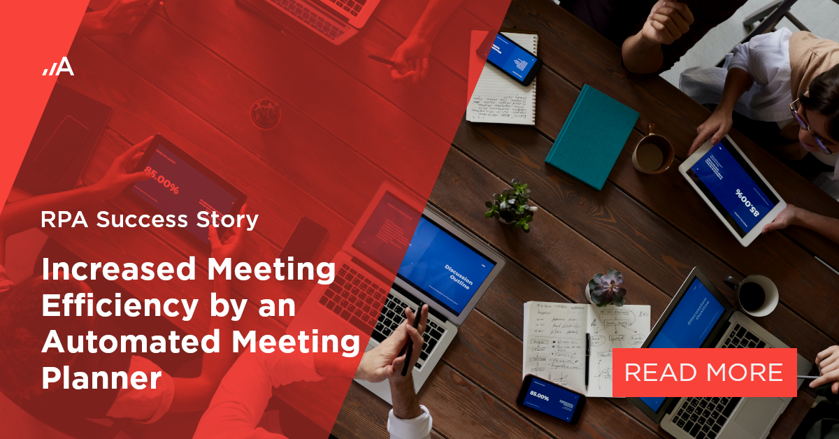 increased meeting efficiency by an automated meeting planner